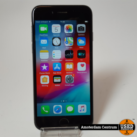 iPhone 6 64GB Space Gray | Incl. lader