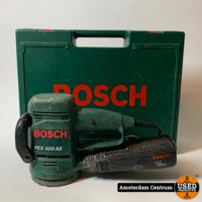 Bosch PEX 400 AE schuurmachine | Incl. koffer