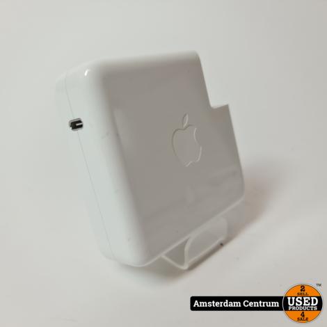 Apple MacBook USB-C Adapter 87W incl. kabel 2 meter | In prima staat