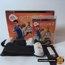 PlayStation 3 Active 2 Personal Trainer   incl. Garantie en Doos