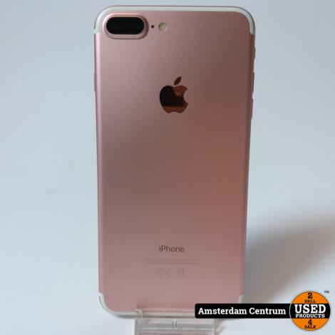 iPhone 7 Plus 32GB Rose Gold   Incl. doos