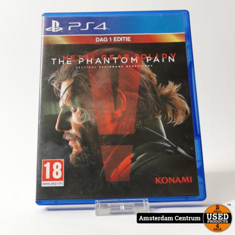 Playstation 4 Game: Metal Gear Solid Phantom Pain