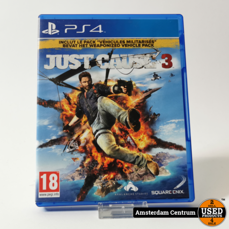 Playstation 4 Game: Just Cause 3