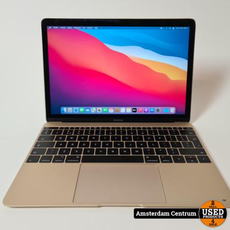 Macbook 12-inch 2015 Intel Core M 8GB 512GB SSD | Incl. lader