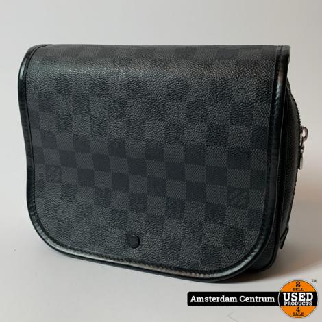 Louis Vuitton N41419 Hanging Toiletry Kit Bag Damier Graphite 2013 | In nette staat