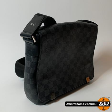 Louis Vuitton N41028 District PM MESSENGER Graphite Damier | Nette staat + Bon