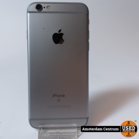 iPhone 6s 64GB Space Gray | Incl. garantie