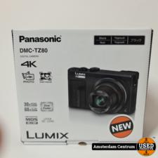 Panasonic Lumix DMC-TZ80 Zwart | Nieuw in doos