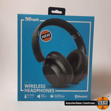 Trust Eaze Wireless Koptelefoon   Nieuw in doos