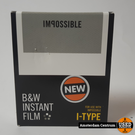 Impossible B&W Instant Film I-Type | Nieuw