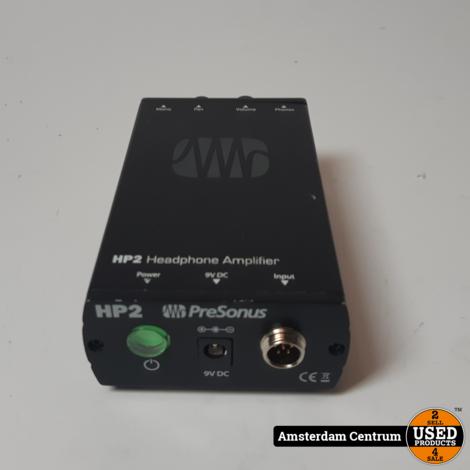PreSonus HP2 2-Channel Amplifier | Incl. garantie