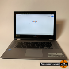 Acer Acer 15 CP315-1H-P75Z Chromebook Zilver   Nette staat + Bon Mediamarkt