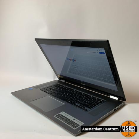 Acer 15 CP315-1H-P75Z Chromebook Zilver   Nette staat + Bon Mediamarkt