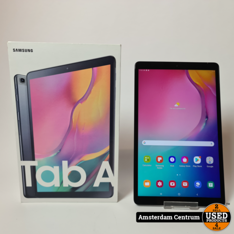 Samsung Galaxy Tab A 10.1 (2019) 32GB WiFi Zwart/Black   In nette staat