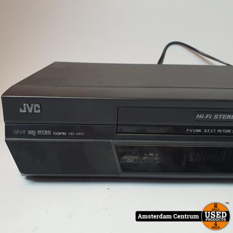 JVC HR-V611E Casette Recorder | Incl. AB en garantie