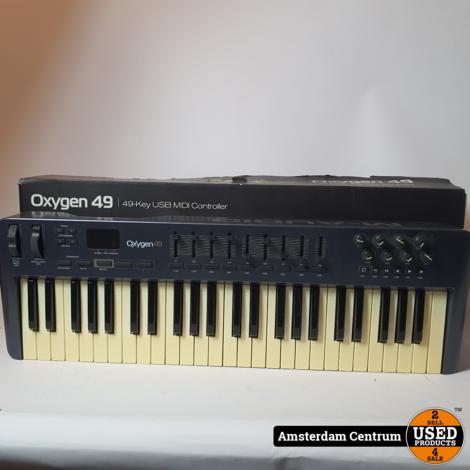 M-Audio Oxygen 49 3rd Gen. Midi Keyboard | Incl. garantie