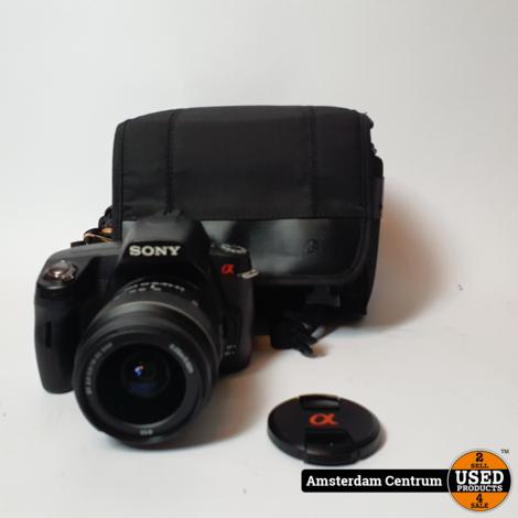 Sony A290 Spiegelreflexcamera Zwart + Sony SAL 18-55mm F3-5-5.6 | Incl. lader