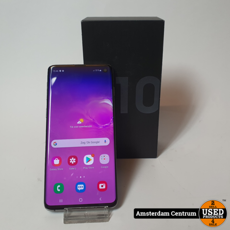 Samsung Galaxy S10 128GB Prism Black | Incl. garantie