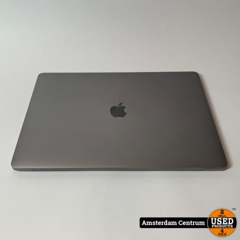 Macbook Pro 2018 15-inch i7 32GB RAM 512GB SSD Touchbar   In nette staat