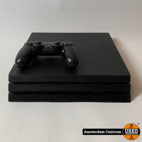 Playstation 4 Pro 1TB Zwart/Black   Incl. garantie