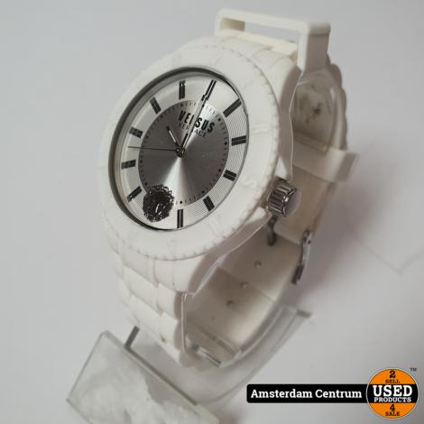 Versus Versace SOY02 0015 Wit/White Heren Horloge   Incl. garantie