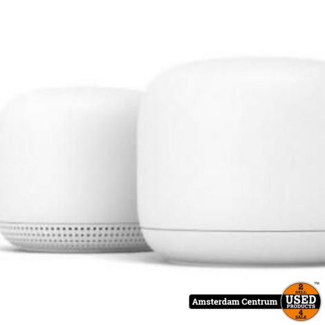 Google Nest Bundel Multiroom Wifi Router + Wifi Punt | Nieuw in seal