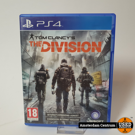 Playstation 4 Game : Tom Clancy's The Division