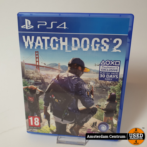Playstation 4 Game : Watch Dogs 2
