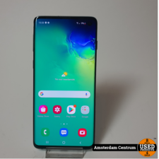 Samsung Galaxy S10 128GB Groen/Green   Incl. lader en garantie