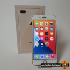iPhone 8 Plus 64GB Rose Gold   incl. Lader, Doos en Garantie