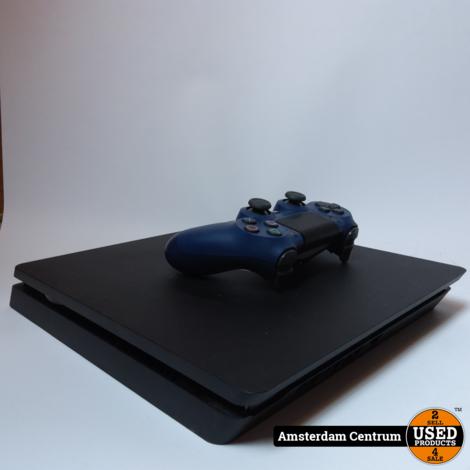Playstation 4 Slim 500GB Zwart/Black | Nette staat in doos