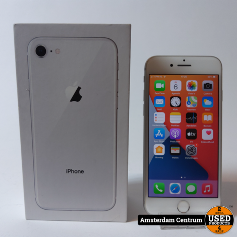 iPhone 8 64GB Silver | Incl. doos en garantie