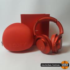 Sony MDR-100ABN Rood/Red Koptelefoon | ZGAN in doos