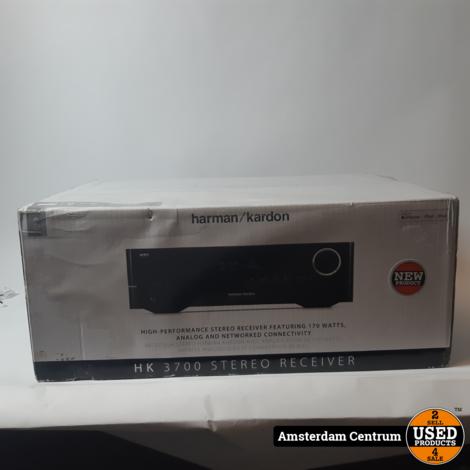 Harman Kardon HK3700 Stereo Receiver | Nieuw in doos
