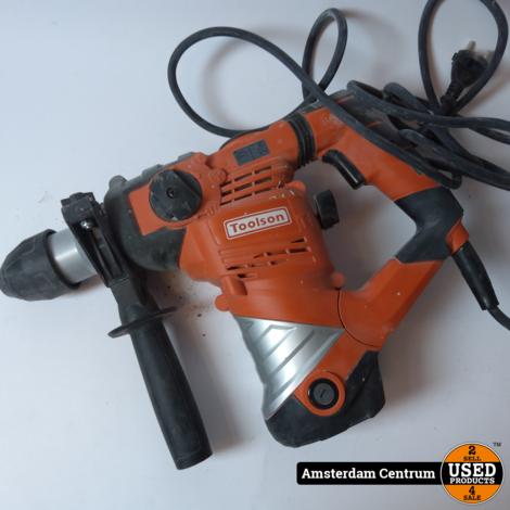 Toolson Pro BH-1600 Boorhamer | incl. Koffer en Garantie