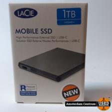 LaCie Mobile SSD 1TB 540MB/s LRD0TUA USB-C | Nieuw in seal