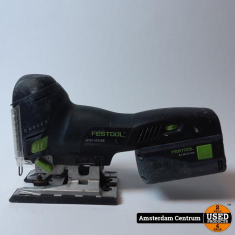 Festool PSC 420 EB Accu Decoupeerxzaag Carvex | Incl. koffer