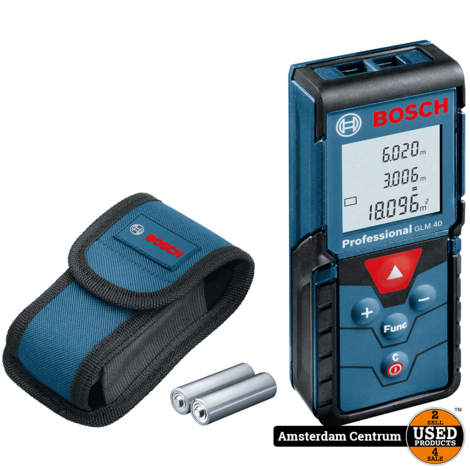 Bosch Professional GLM 40 Afstandsmeter | Nieuw