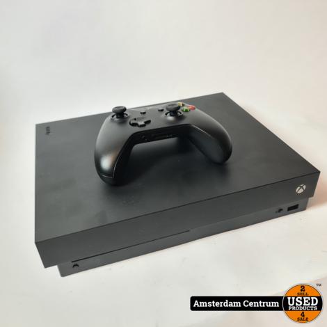 XBOX One X 1TB Black | Nette staat in doos