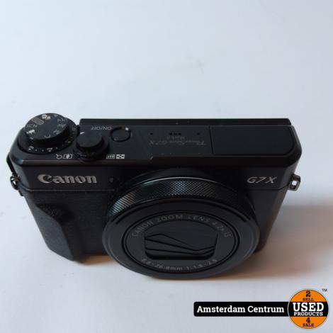 Canon Powershot G7X Mark II Camera | Incl. lader