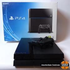 Playstation 4 500GB Zwart/Black   Nette staat in doos