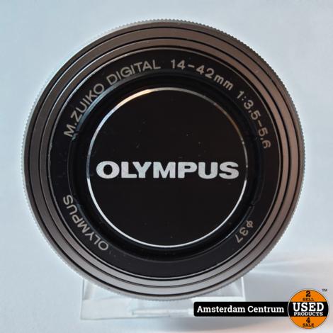 Olympus 14-42MM F/3.5-5.6 EZ ED MSC Silver | In nette staat