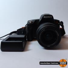 Sony A290 camera incl. 18-55mm f/3.5-5.6 lens | Incl. lader en garantie