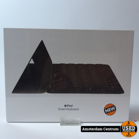 APPLE Smart Keyboard Zwart voor iPad (7e gen.) en iPad Air (3e gen.)   Nieuw