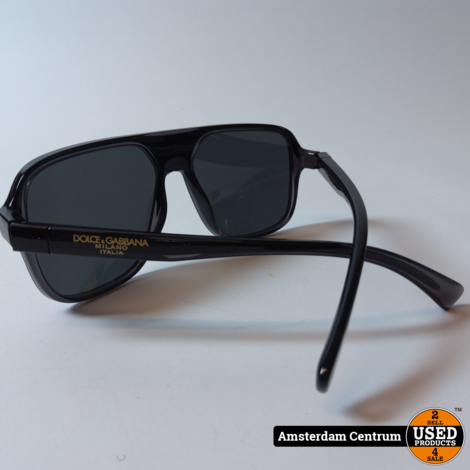 Dolce  Gabbana DG6134 Heren Zonnebril | In hoes