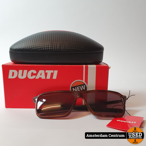 Ducati DA5024 Zonnebril 139 0-120 Black | Nieuw in Doos