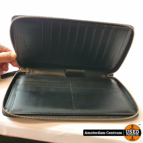 MontBlanc Meisterstuck Leather Travel Wallet 114534 Black | Nette staat