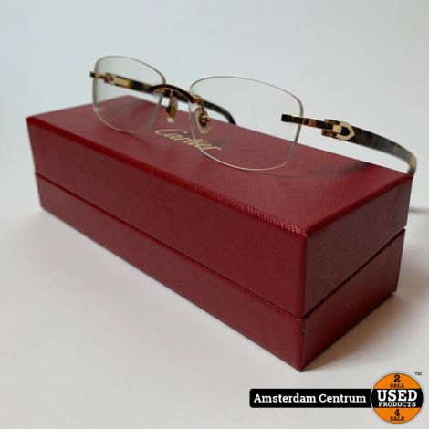 Cartier Canazei CT0048O 004 Bril   Incl. doos
