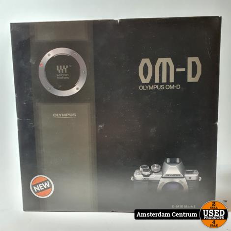 OLYMPUS OM-D E-M10 Mark II 14-42mm II R Kit Zwart | Nieuw in doos