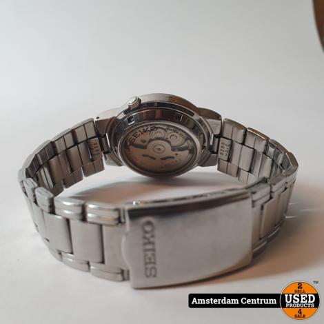 Seiko 5 7S26 01F0 Automatic Heren Horloge | Excl. doos en papieren